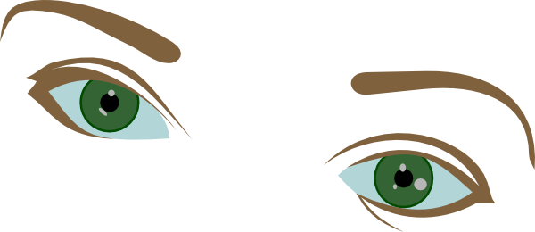 Eyebrow clipart eyebrow shape. Eyes and eyebrows clip