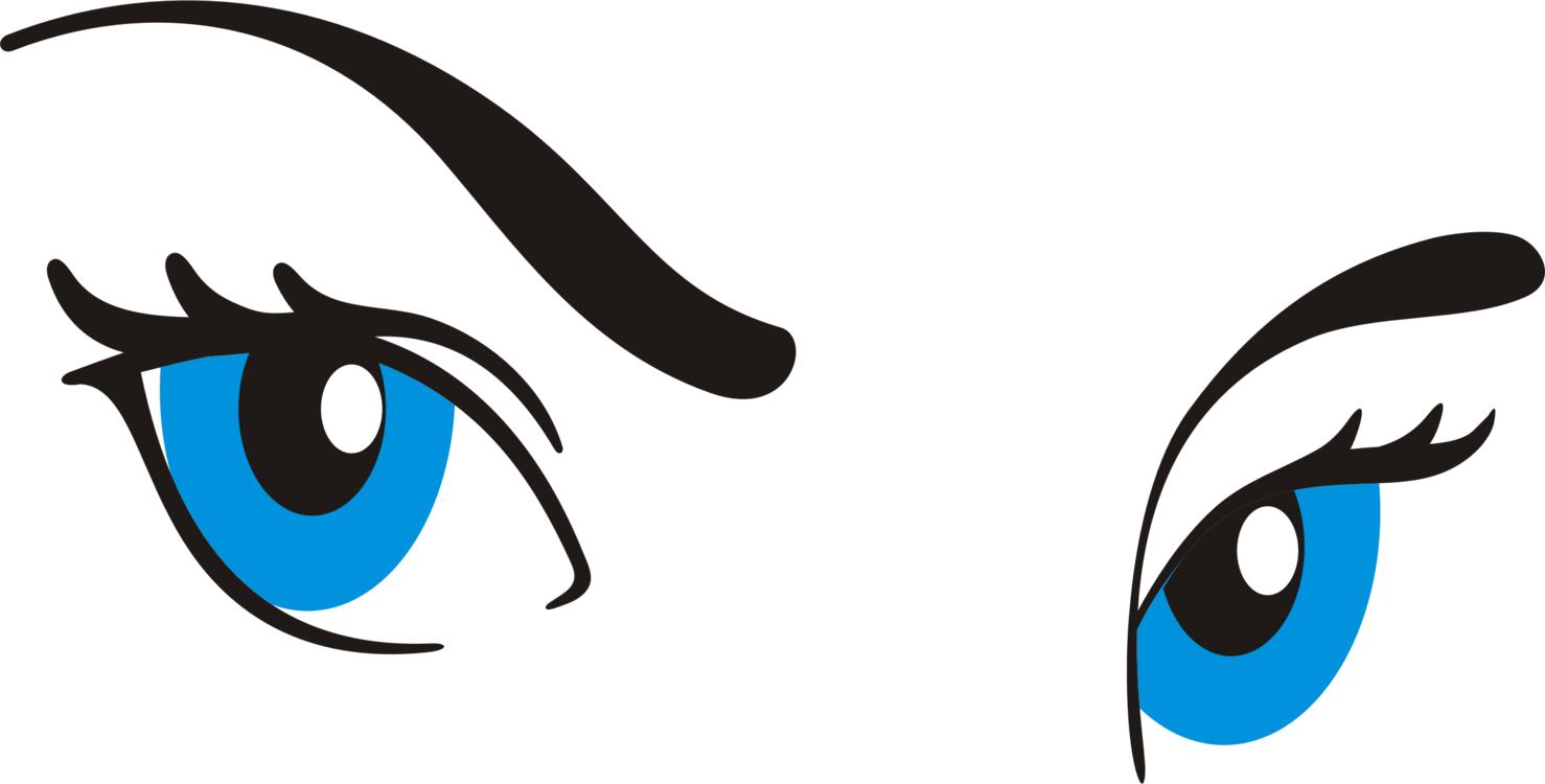 Eyebrow clipart blue eye. Color pupil free commercial