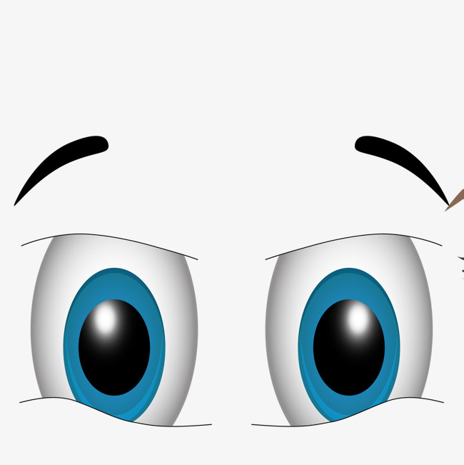 Eyebrow clipart blue eye. Png vectors psd and