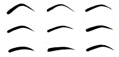 Eyebrow clipart eyebrow shape. Someone once said eyebrows