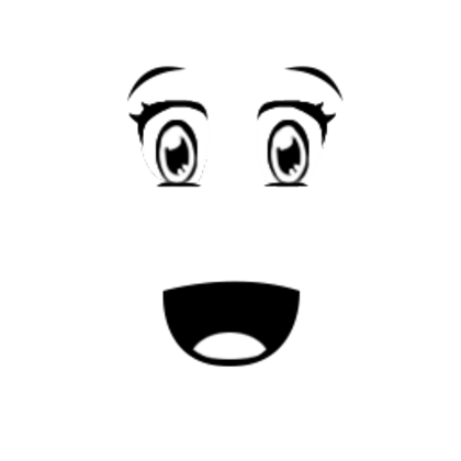 Anime eyebrow png. Surprise roblox