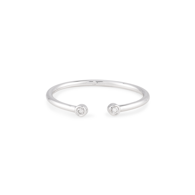 Eyebrow ring png. White gold gallery eye