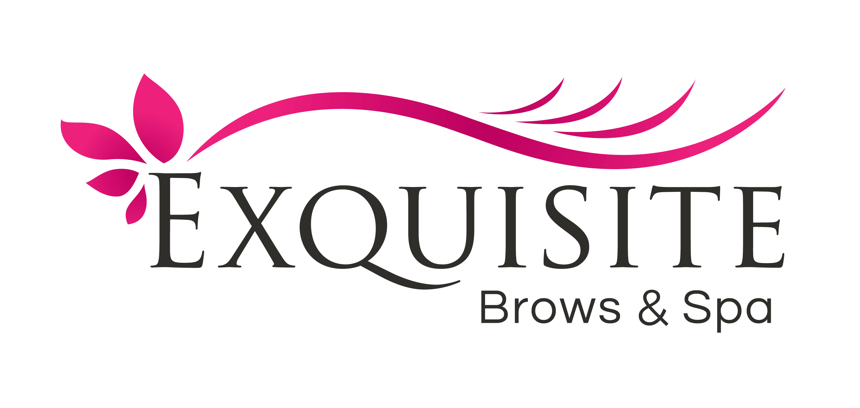 Eyebrows logo png. Exquisite brows spa eyebrow