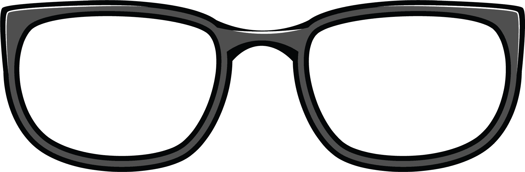 Eyeglasses clipart 70 glass. Spectacles hipster pencil and