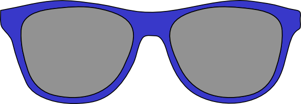 eyeglasses clipart glares
