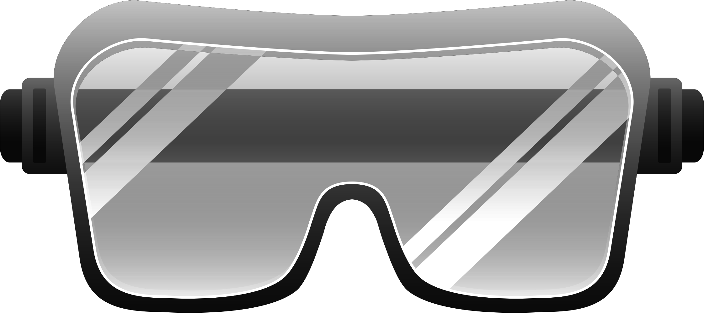 Free protective glasses cliparts. Goggle clip vector freeuse library