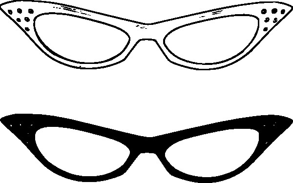 eyeglasses clipart spects