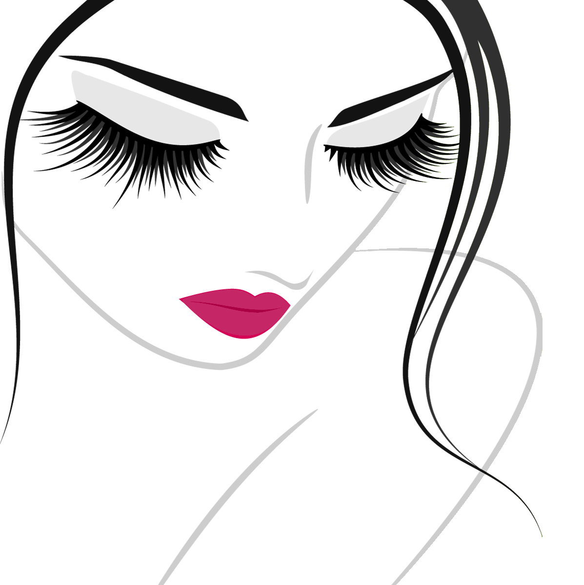 Eyelash clipart beautiful eye. Grow your lashes naturally