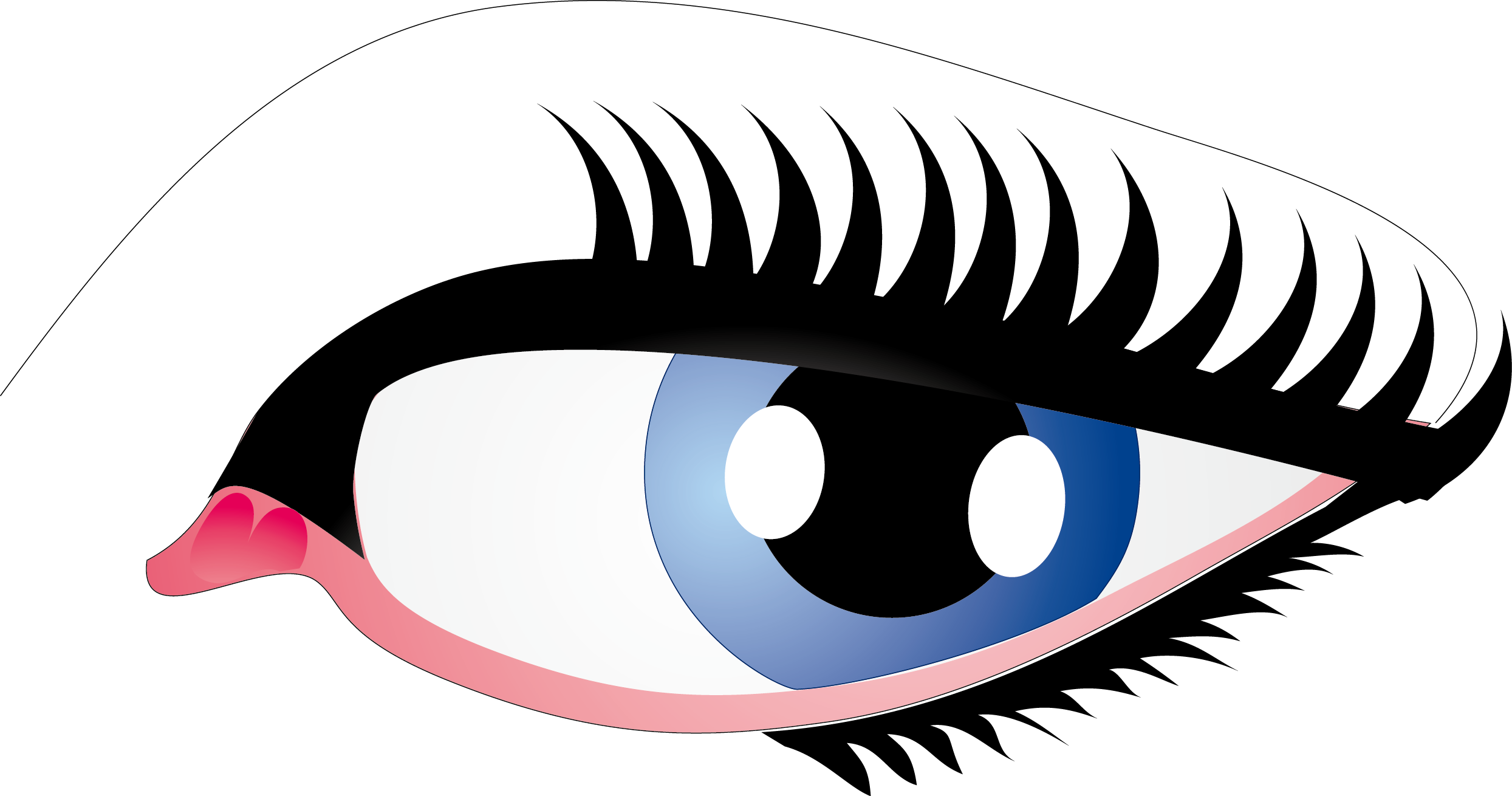 Eyelash clipart perfect eyebrow. Cliparts for free
