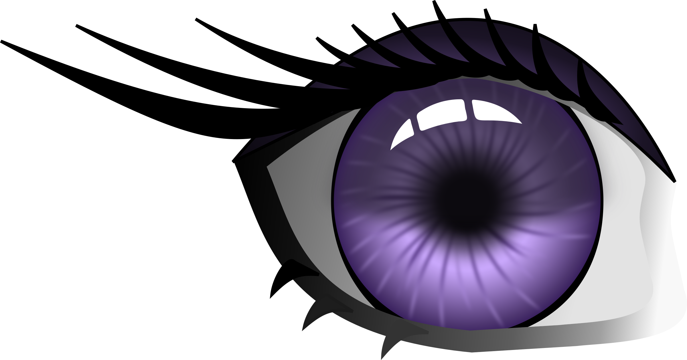 Eyelash clipart purple eye. Big image png