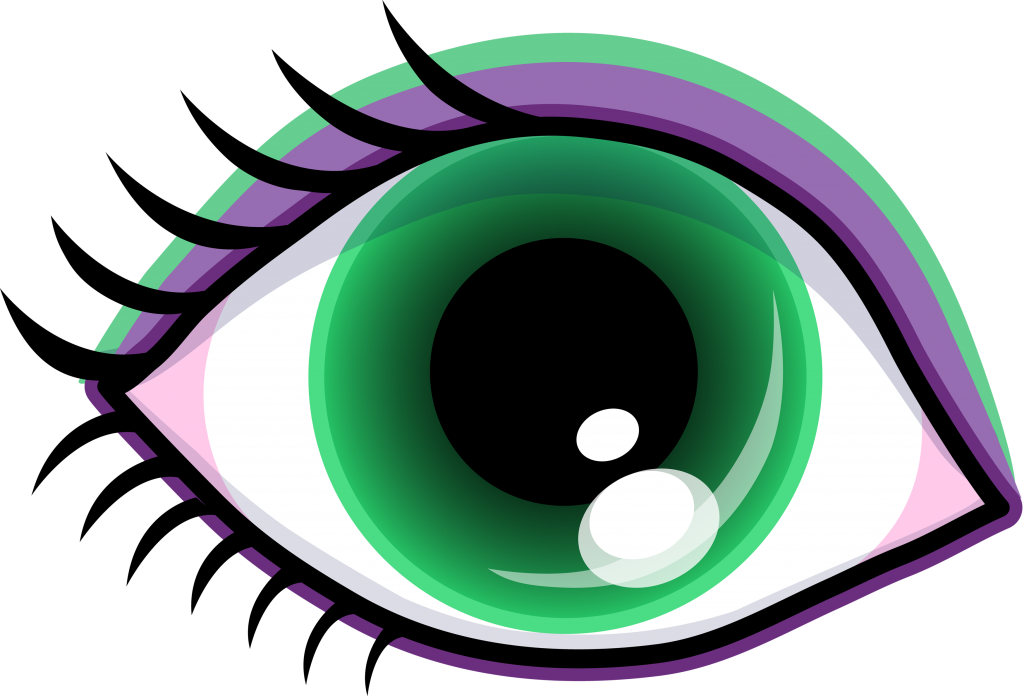 Eyelash clipart purple eye. Free border of eyes
