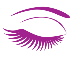 Eyelash clipart purple eye. Services salon blonde hair