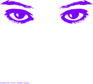 Eyelash clipart purple eye. Eyes clip art at