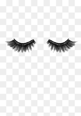 Eyelash clipart transparent background. Eyelashes png vectors psd