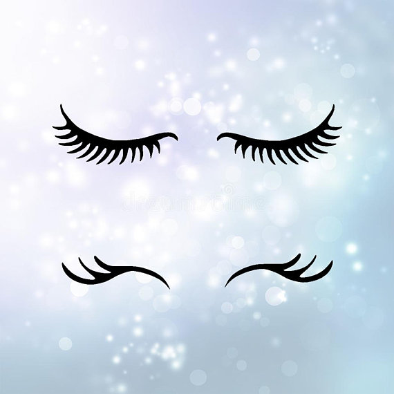Eyelash clipart wink. Eye lashes svg download