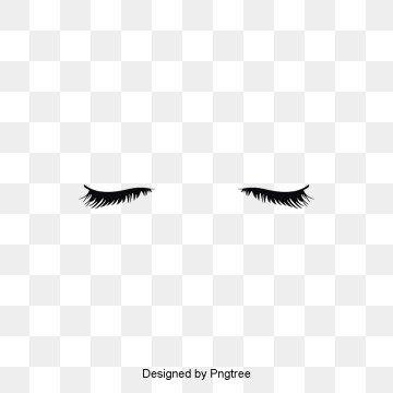 Images vectors and psd. Eyelashes graphic png free stock