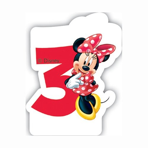 Eyelashes clipart minnie mouse. Rd birthday candle