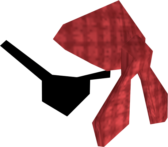 Eyepatch png transparent. Bandana and red runescape