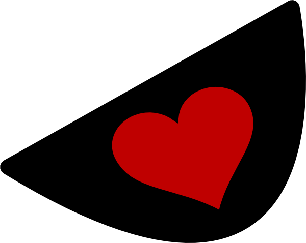 Red heart clip art. Eyepatch png transparent png freeuse library