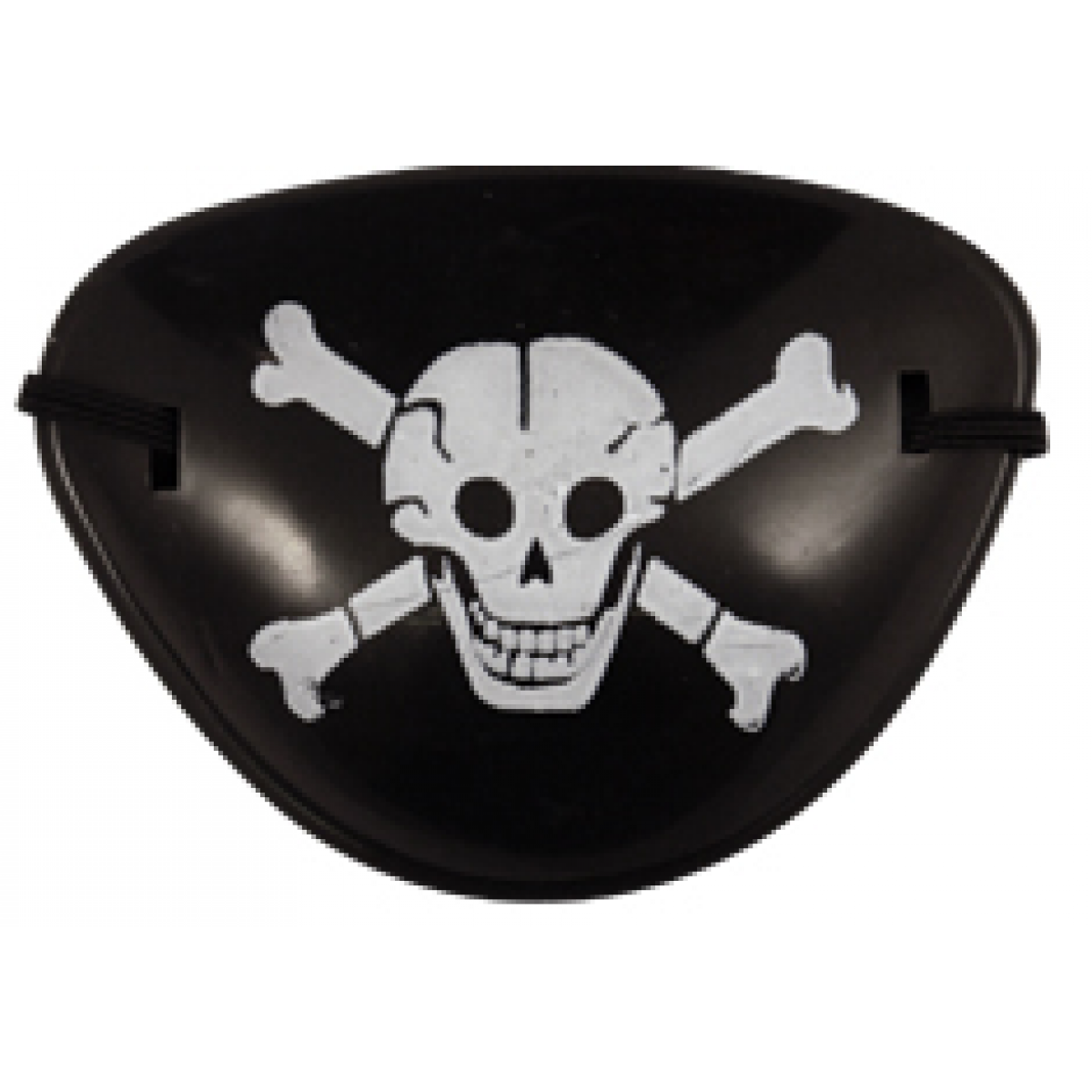 Eyepatch transparent one eye. Pirate patch more views