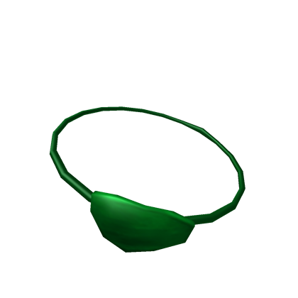 Green ish eye patch. Eyepatch transparent clip library library