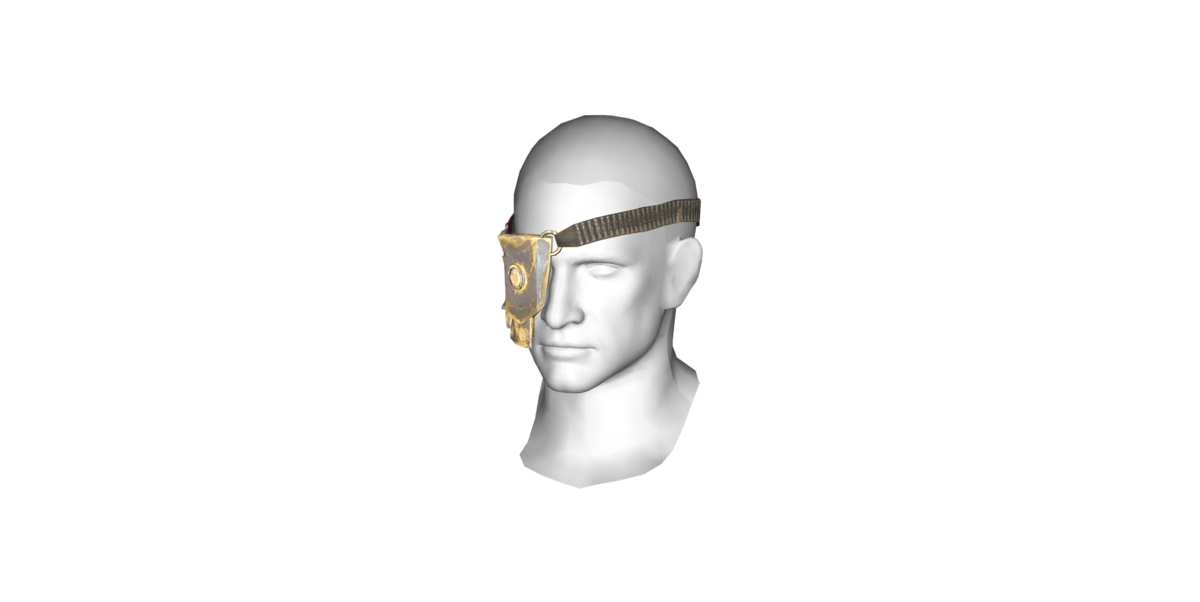 Eyepatch transparent background. Gage s the vault
