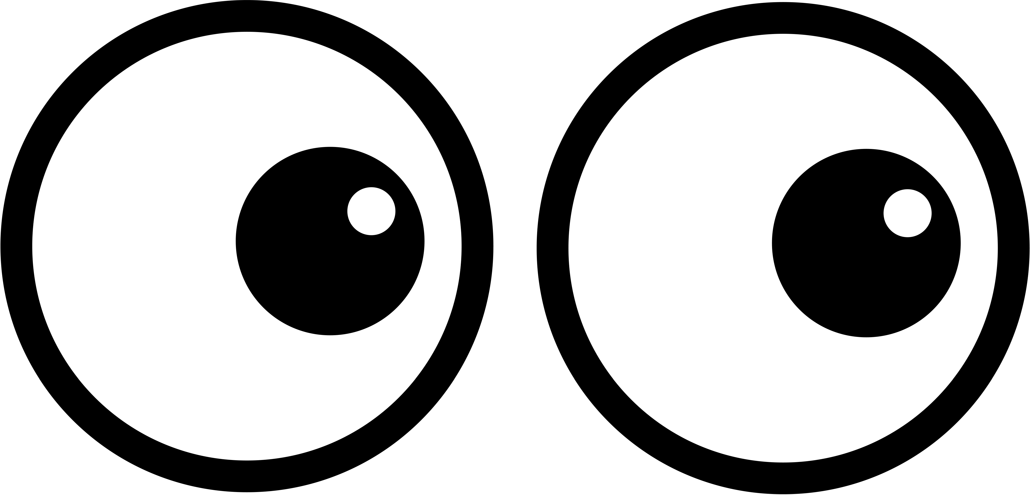 Eyes clipart. Two