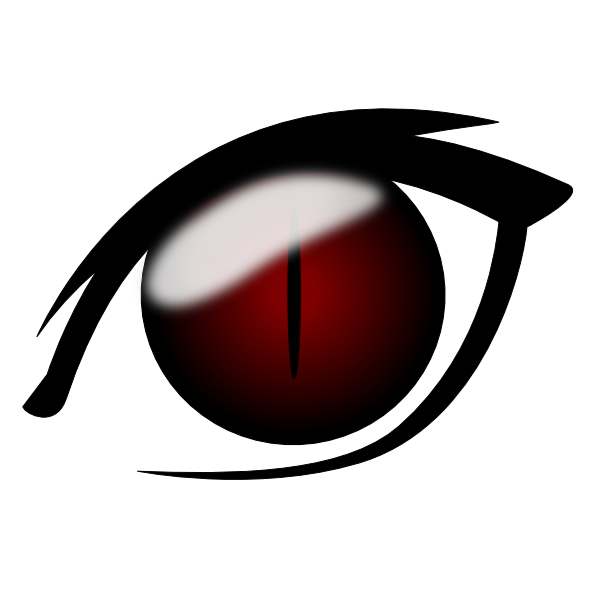 Eyes l png. Anime eye clip art