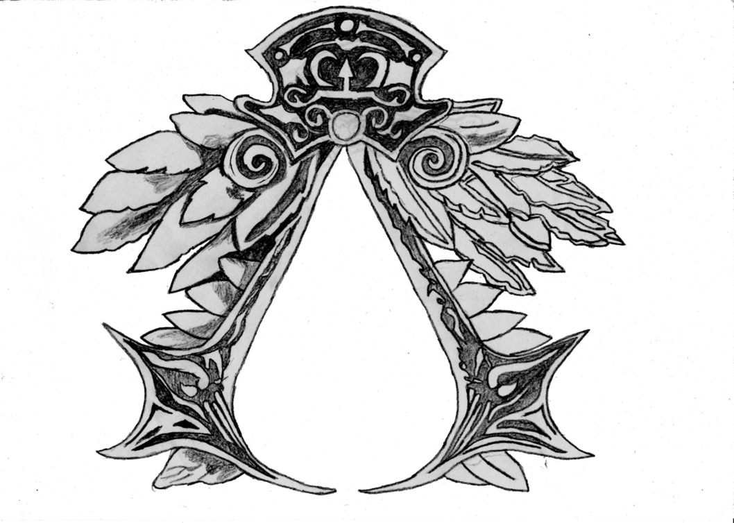 Ezio drawing assassin's creed. Assassin s logo png