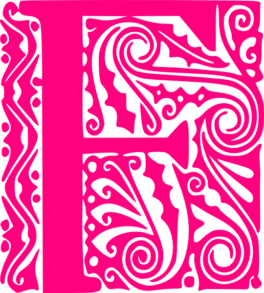 Vector f letter. Free clipart download clip