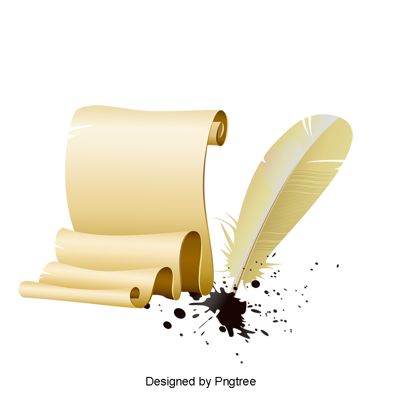 Vector notes logo. Quill pen and notepad