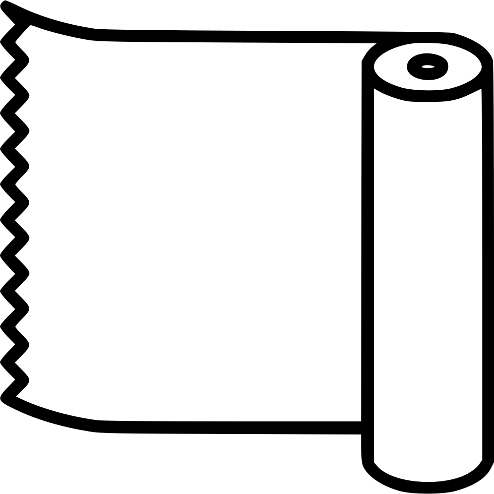 Fabric vector roll. Roller svg png icon