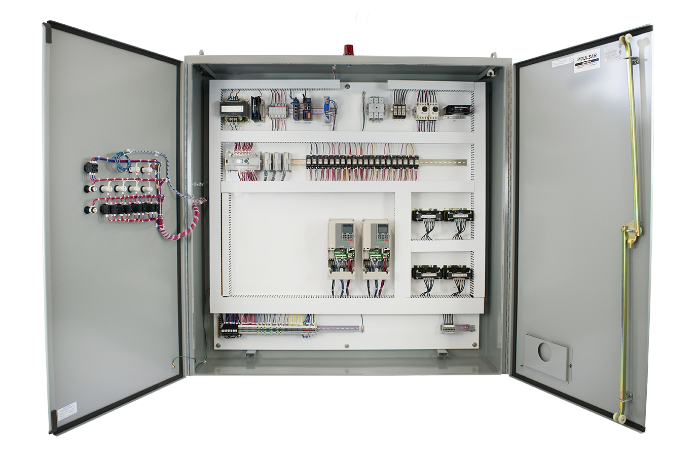 Fabrication drawing electrical panel. Tulsar canada the leader