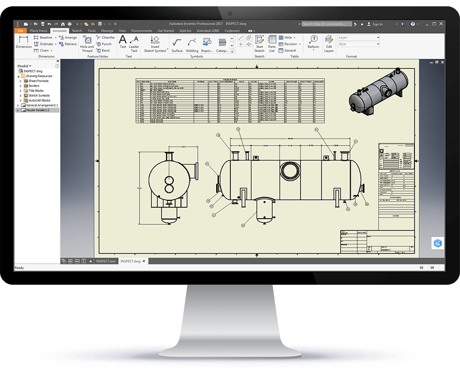 Fabrication drawing solidworks. Efficient asme with compress