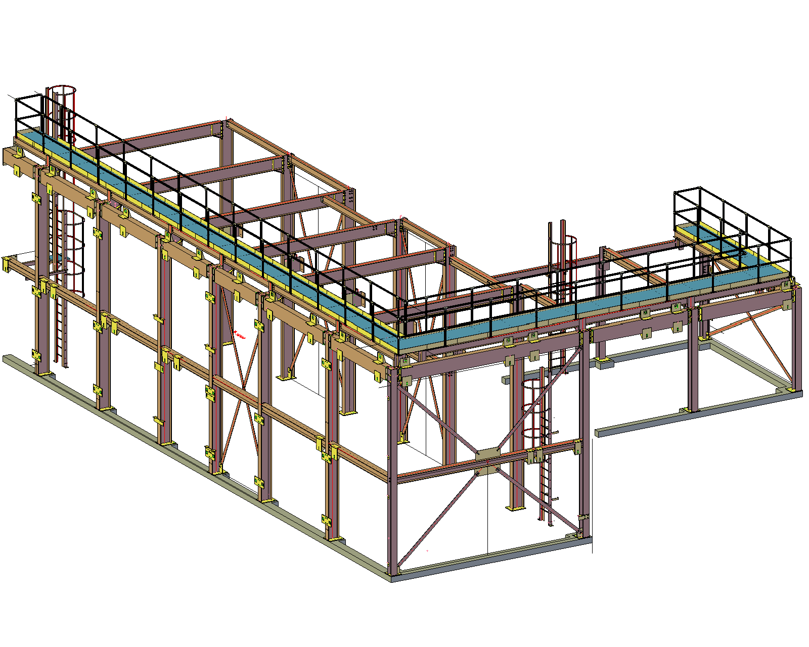 Drawing steel detailing. Fabrication drawings services company