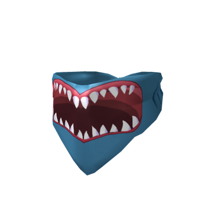 Face bandana png. Image shark mouth roblox