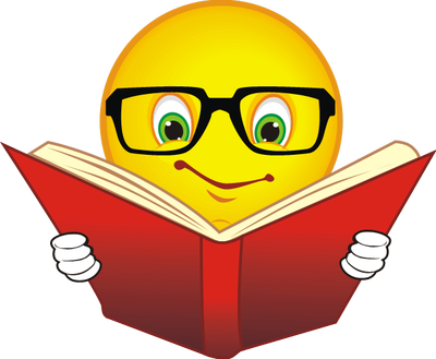 Face clipart book. Happy reading a james
