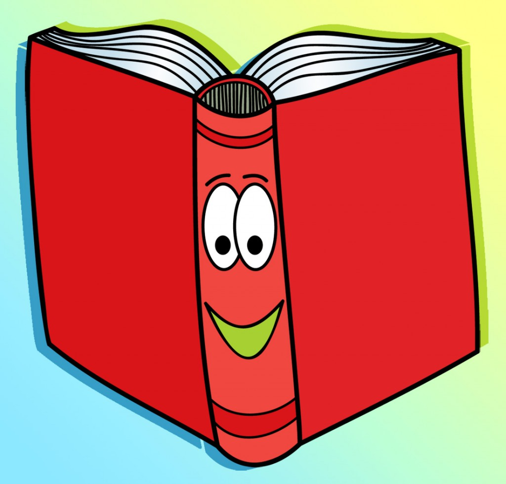 Face clipart book. Books cliparts for you