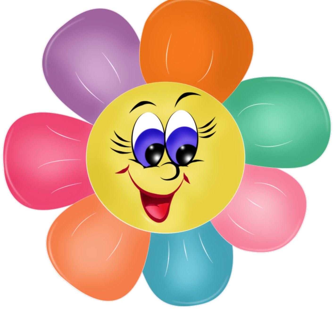 Face clipart flower. Pretty b by pinterest