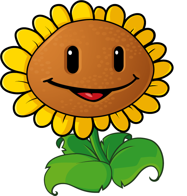 Face clipart flower. Sunflower