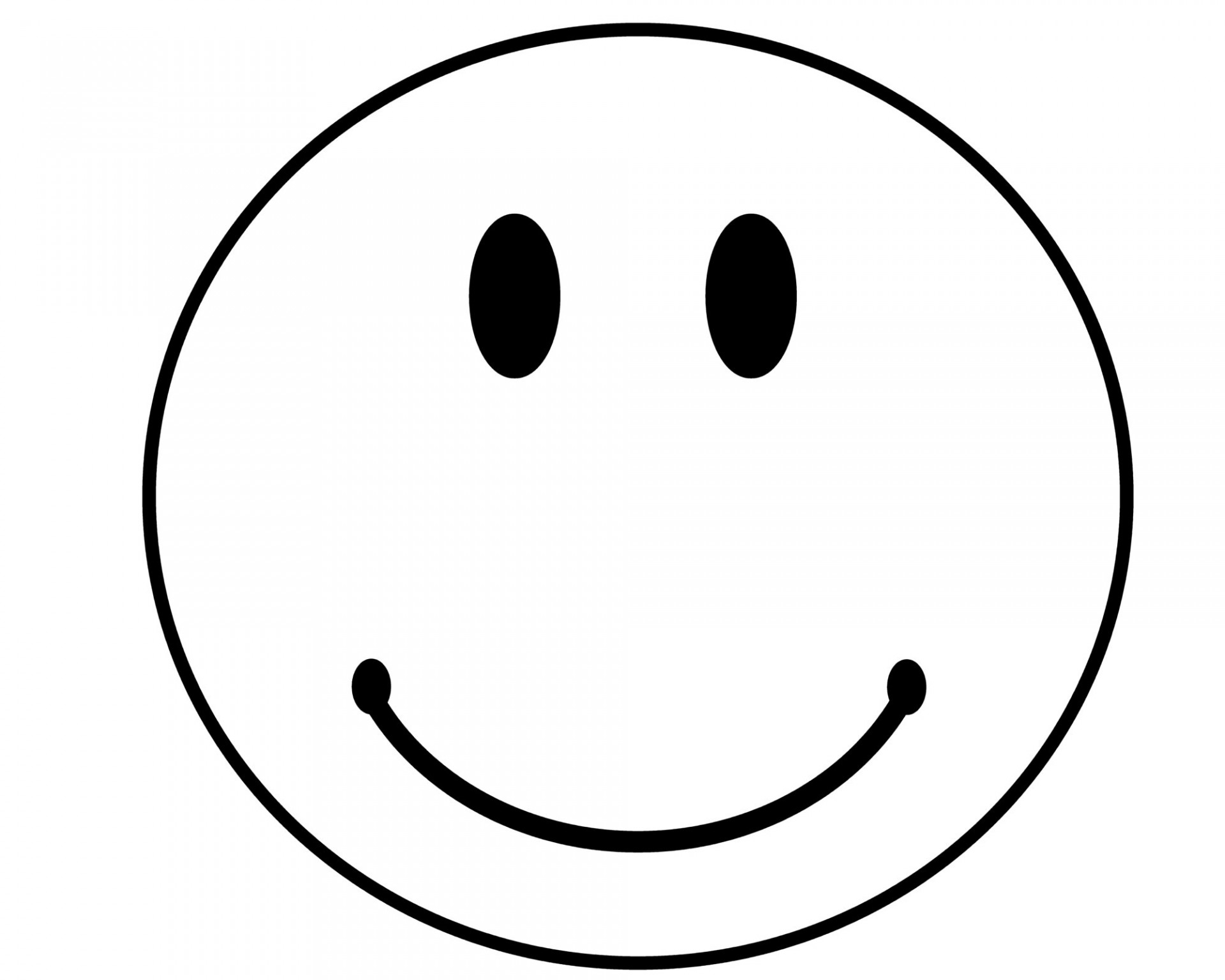 Face clipart happy. Black and white smiley