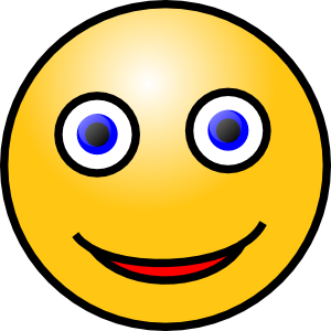 Face clipart happy. Smiley clip art emotions