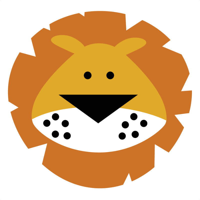 Lion head clipart png. Free picture of a