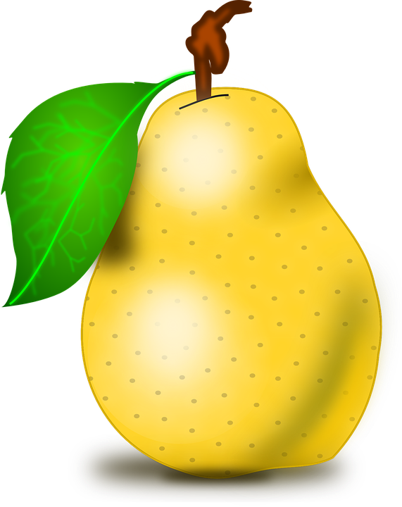 Face clipart pear. Free photo healthy juicy