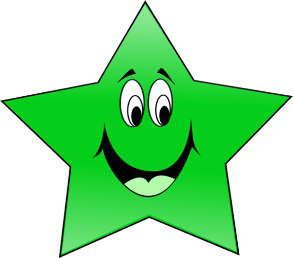 Face clipart star. Free smile cliparts download
