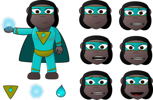 Face clipart superhero. Drawing computer icons free