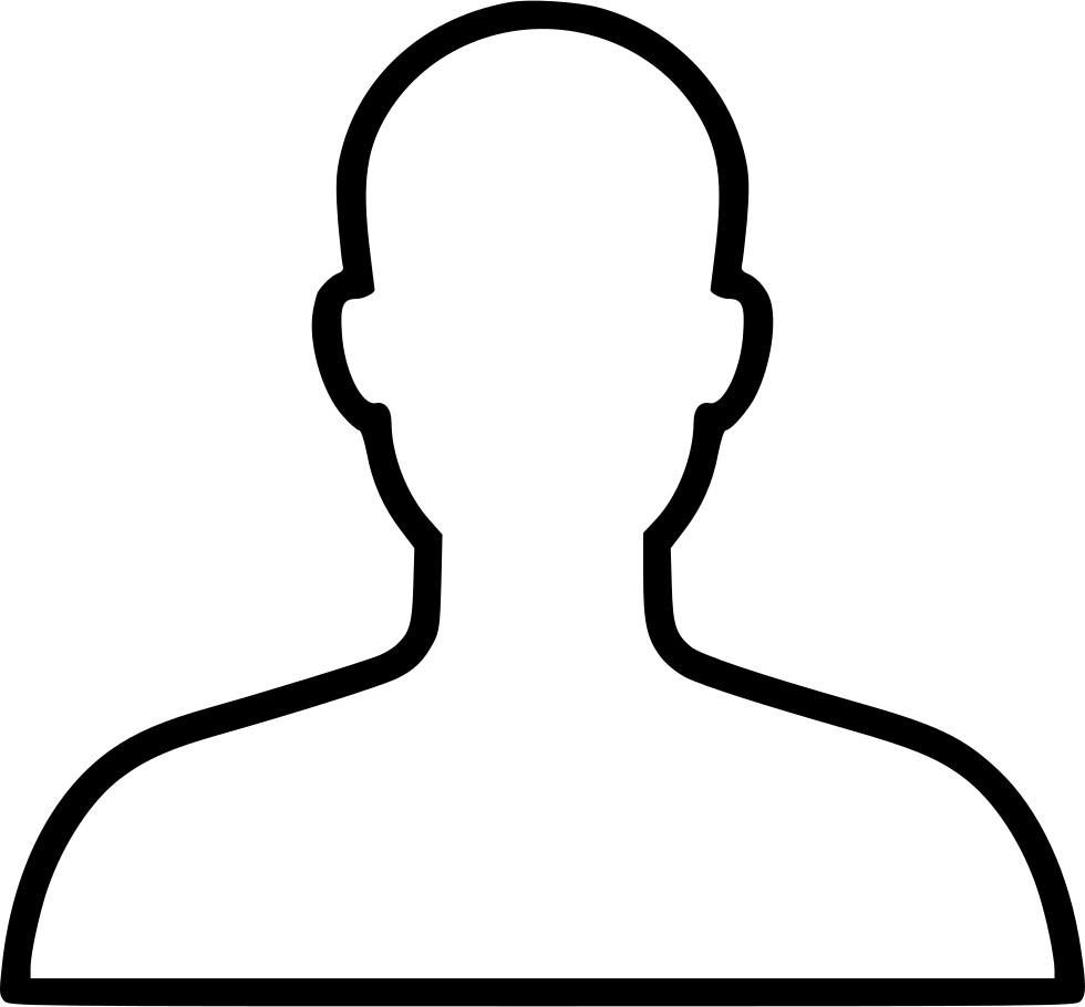 Drawing hairlines profile. Account avatar face head