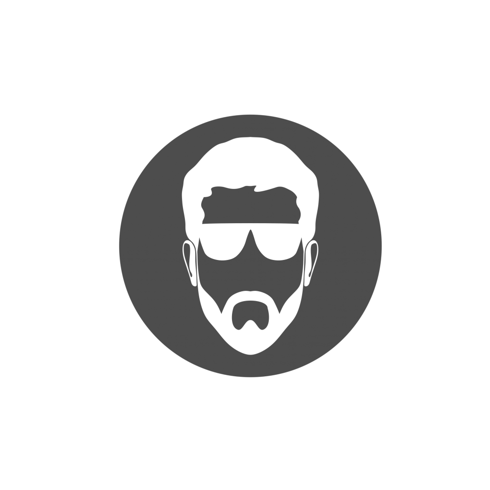 Face logo png. Man s free elements