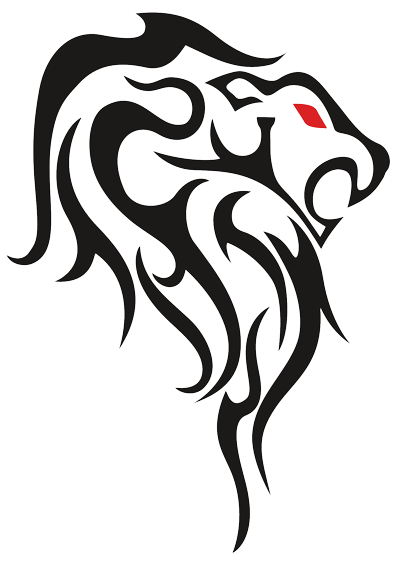 Face tattoo png. Lion transparent free images