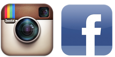 Free icon download social. Facebook and instagram logo png vector library stock